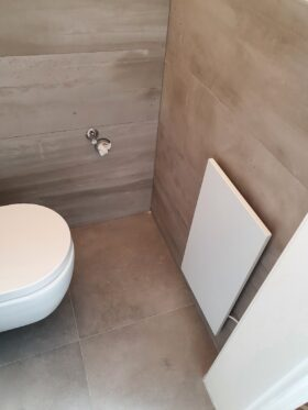 Infrarot WC Heizung